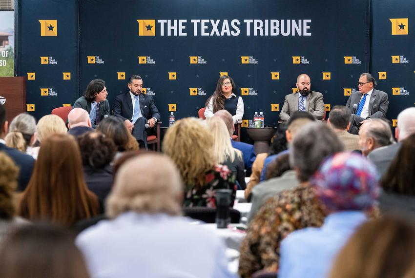 The Future of the Border Region with State Rep. César Blanco, State Rep. Mary González, State Rep. Joe Moody, and State Se...