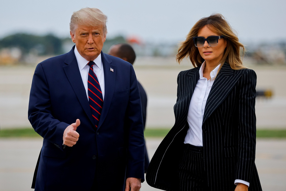 President Trump Says He And First Lady Have Tested Positive For Coronavirus The Texas Tribune