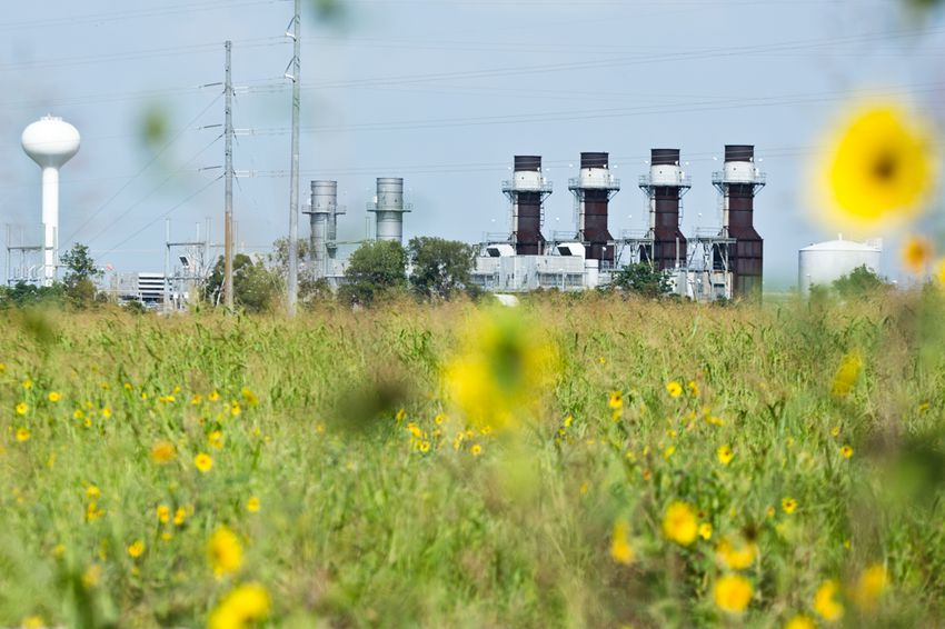 """The Onion Creek substation was badly flooded with heavy storms last fall. It is one of the many """"critical infrastructure assets"""" whose vulnerability to climate change will be studied by Austin."""