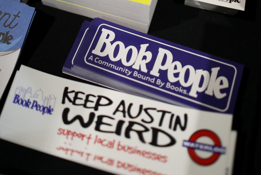 Book People book store in Austin.