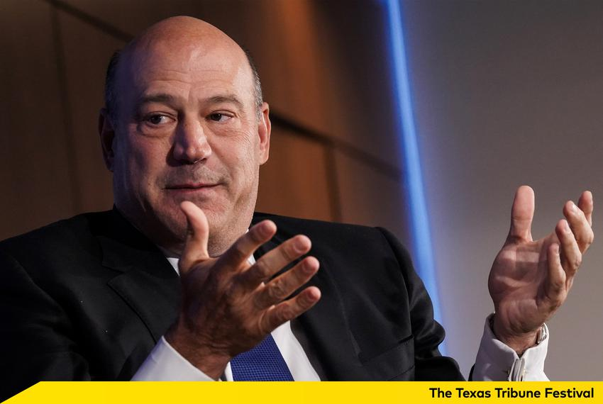 Former Director of the U.S. National Economic Council Gary Cohn speaks at a Reuters Newsmaker event in New York City on Se...