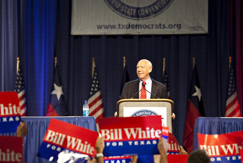 Bill White at the Texas Democratic Party State Convention.