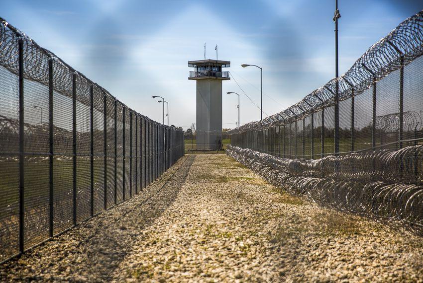 Telford prison in New Boston, Texas.