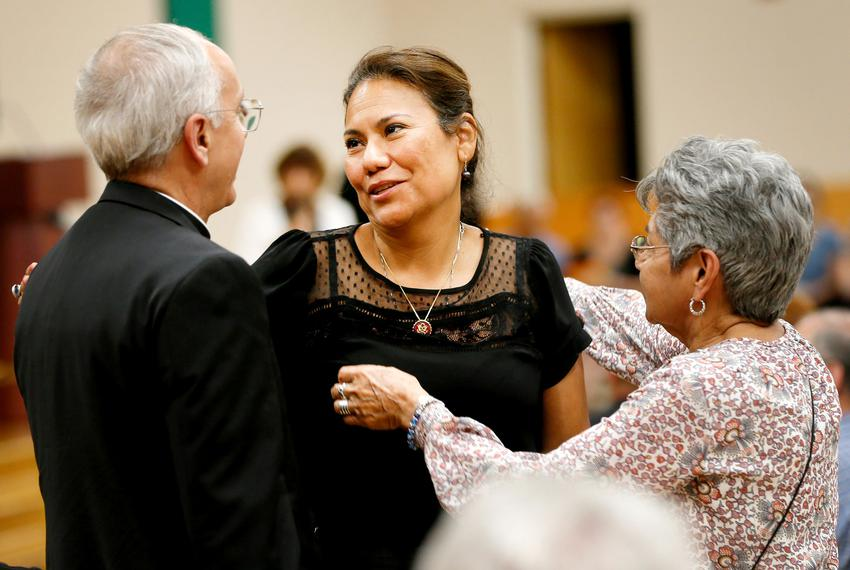 "U.S. Rep. Veronica Escobar, D-El Paso, is one of the keynote speakers at ""Standing Against Fear"" hosted by El Paso Interre..."