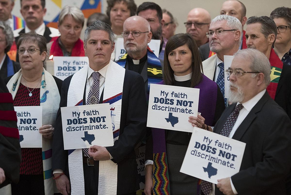 National Episcopal Church Urges Defeat Of Texas Bathroom Bill