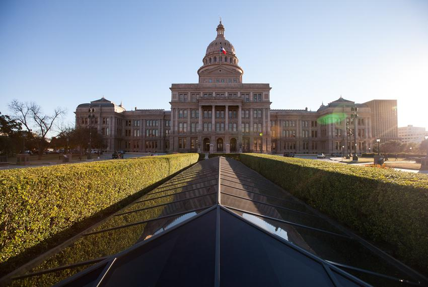 The Texas Capitol Building, Feb. 10, 2015. Credit: Todd Wiseman / The Texas Tribune