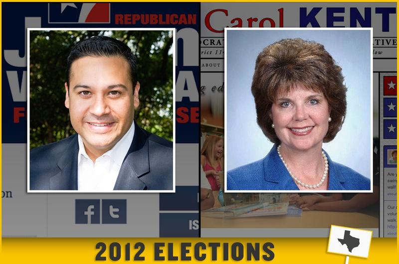 Republican Jason Villalba and Democrat Carol Kent are competing to represent District 114