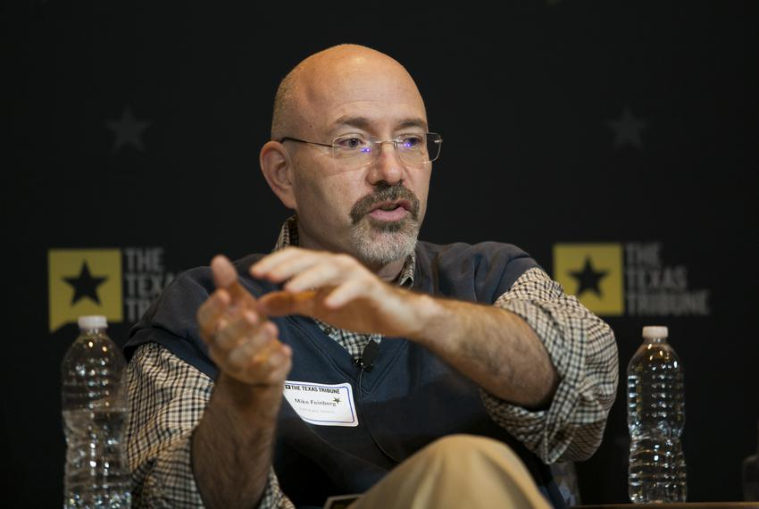 Kipp's Mike Feinberg during a Texas Tribune symposium on public education in Houston on March 3, 2017.