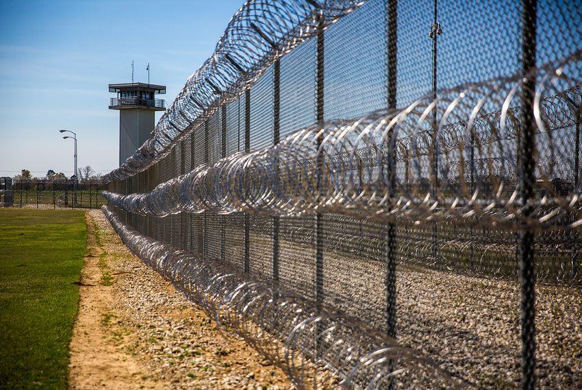 A Texas prison