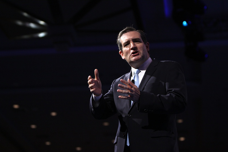 U.S. Sen. Ted Cruz, R-Texas, speaking at the 2013 Conservative Political Action Conference in National Harbor, Md., on March 16, 2013.