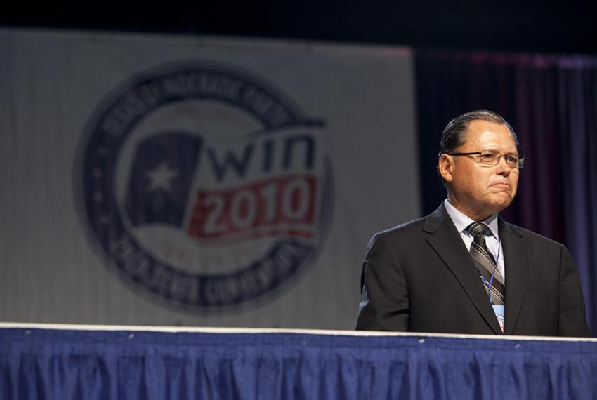State Sen. José Rodríguez, D-El Paso, on June 26, 2010, at the Texas Democratic Convention in Corpus Christi.