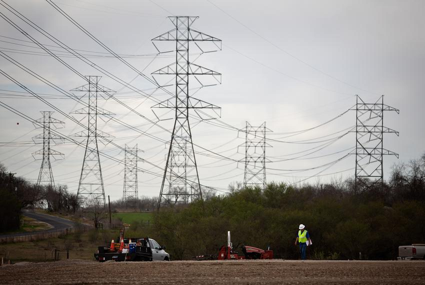 Construction underway for Alamo I, a 41-megawatt solar farm being built by OCI Solar Power for its customer CPS Energy in Sa…