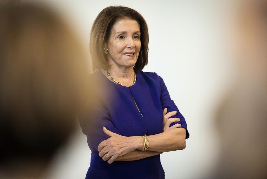 House Speaker Nancy Pelosi spoke at a press conference on H.R. 1 in Austin on Mar. 5, 2019.
