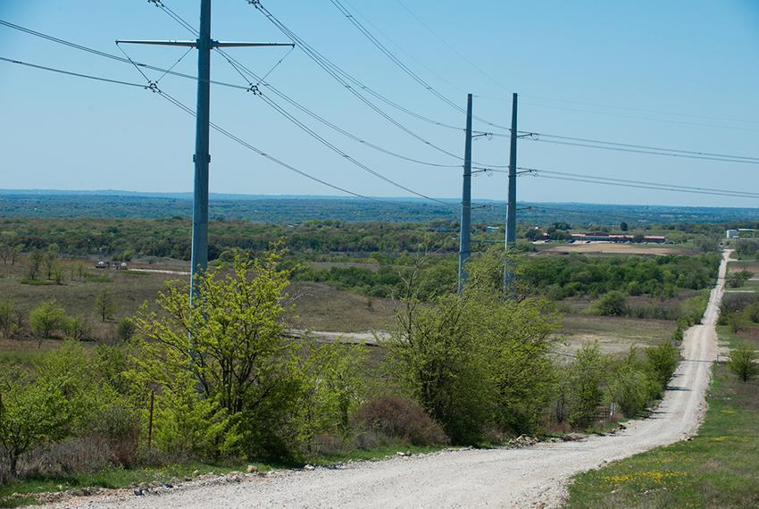 The Rolling V Ranch in Wise County, Texas is home to power transmission lines built by Oncor. The owner, Johnny Vinson says …