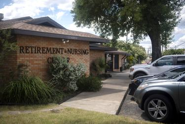The Austin Retirement and Nursing Center in Austin on July 24, 2020.