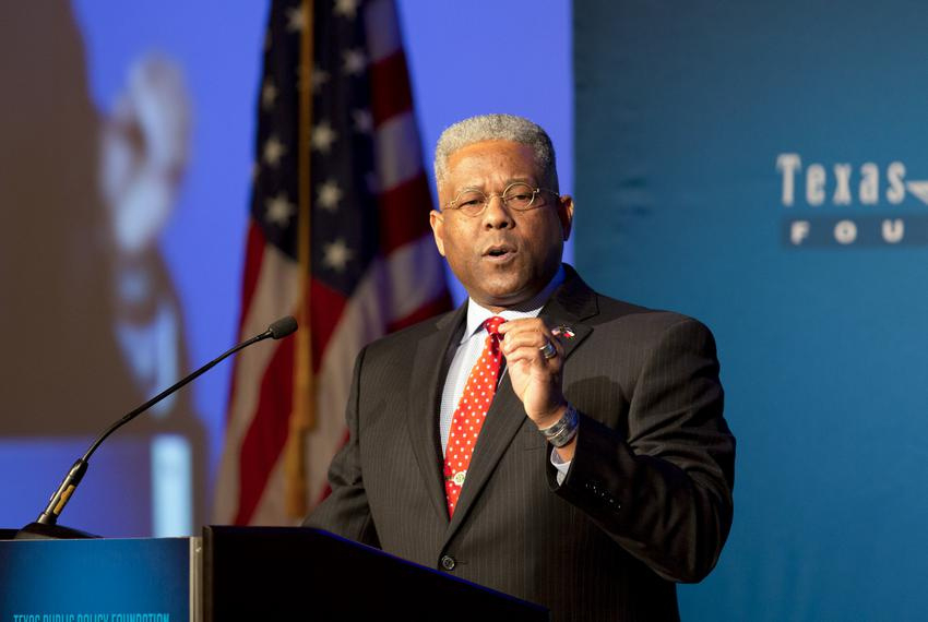 The Honorable Allen West gives remarks during TPPR's Policy Orientation on February 9, 2018