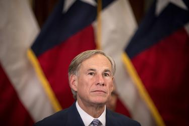 Gov. Greg Abbott announced a strike force in charge of laying steps to re-open the Texas economy at a press conference in the capitol on April 17, 2020.