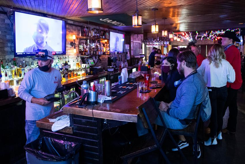 Savage Tavern has converted to a restaurant in order to stay open during Gov. Greg Abbott's COVID-19 related shut down order…