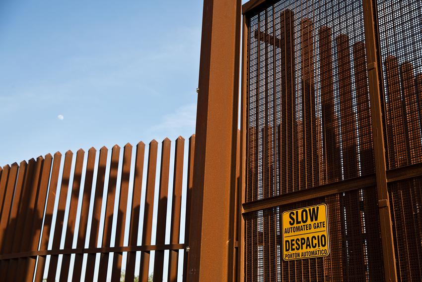 Ordered under the George W. Bush administration, a controversial incomplete border wall along the Rio Grande River in South …