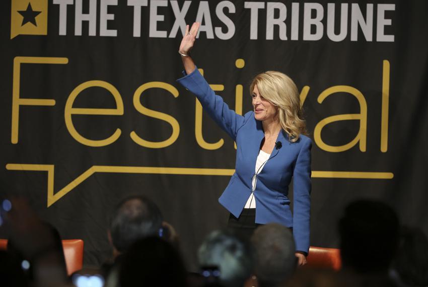 State Sen. Wendy Davis, D-Fort Worth, at The Texas Tribune Festival on Sept. 29, 2013.