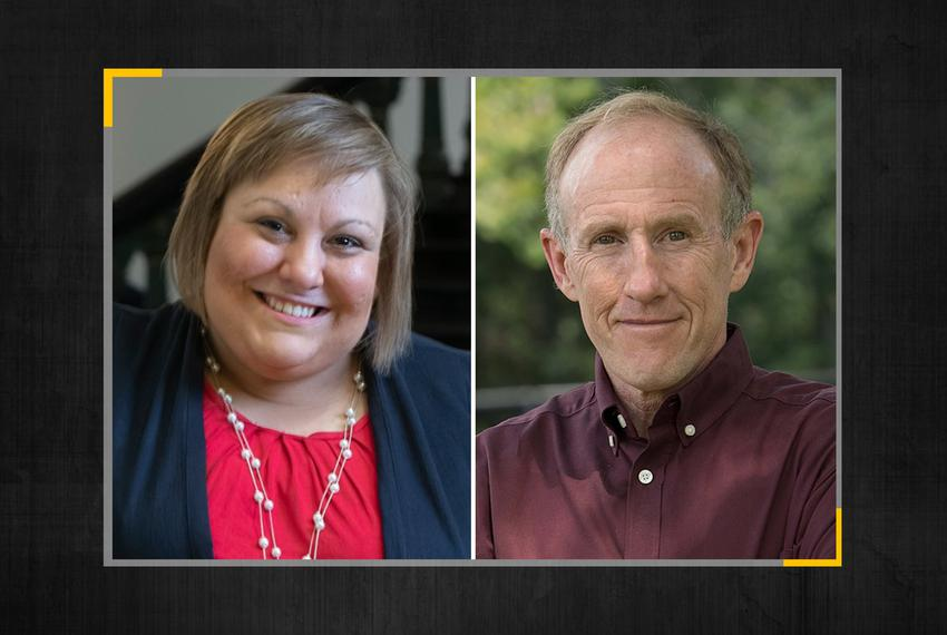 "HD-28 candidates Democrat Elizabeth ""Eliz"" Markowitz and Republican Gary Gates will likely face each other in a runoff ele..."
