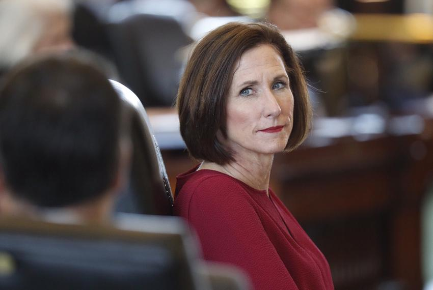 Sen. Lois Kolkhorst proposed a bill that would extend a state aid program to help struggling school districts that say the...