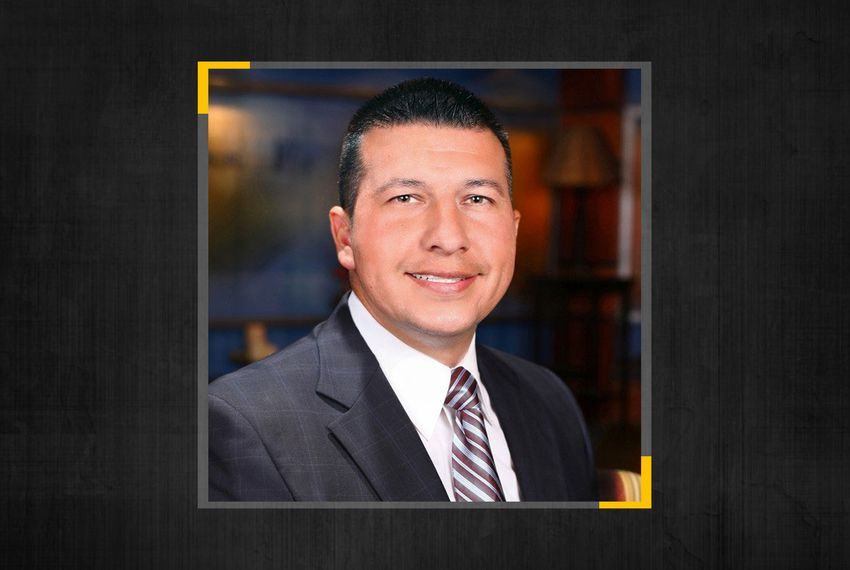 Edinburg Mayor Richard Molina surrendered to authorities Thursday on illegal voting charges.