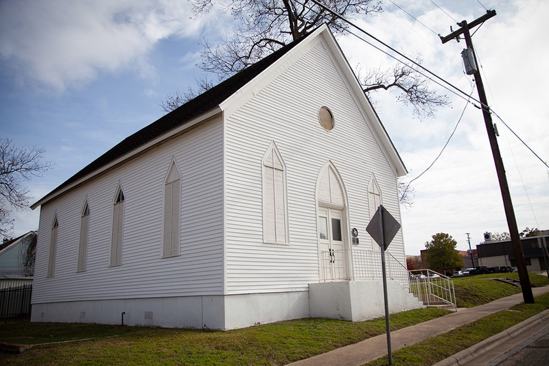 B'nai Abraham synagogue in Brenham, Texas.