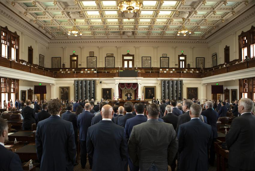 House members praised House Speaker Dade Phelan on Sine Die. May 31, 2021.