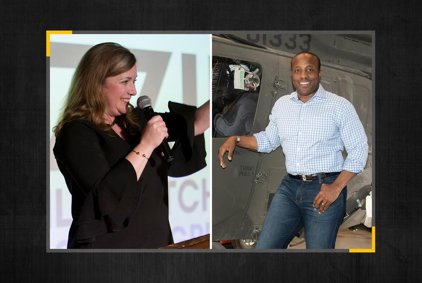 Democrat Lizzie Fletcher and Republican Wesley Hunt are running for Houston area's 7th Congressional District seat.
