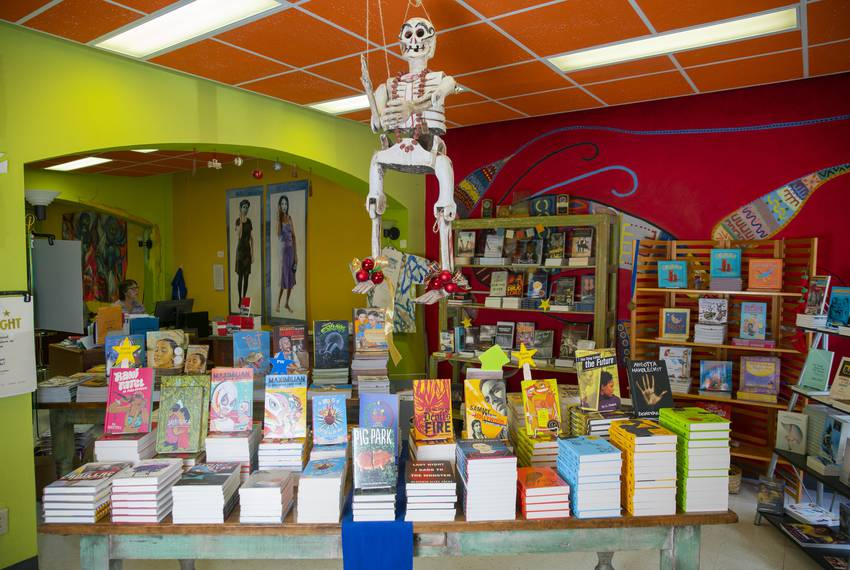 Cinco Puntos Press, an independent book publisher located near downtown El Paso, helped publish a book co-authored by pres...