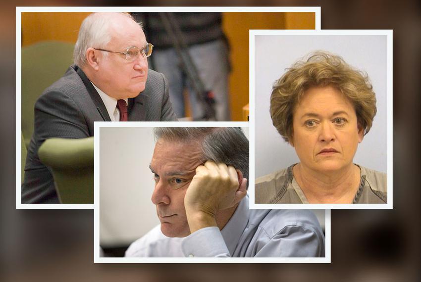 Ken Anderson, John Bradley and Rosemary Lehmberg.