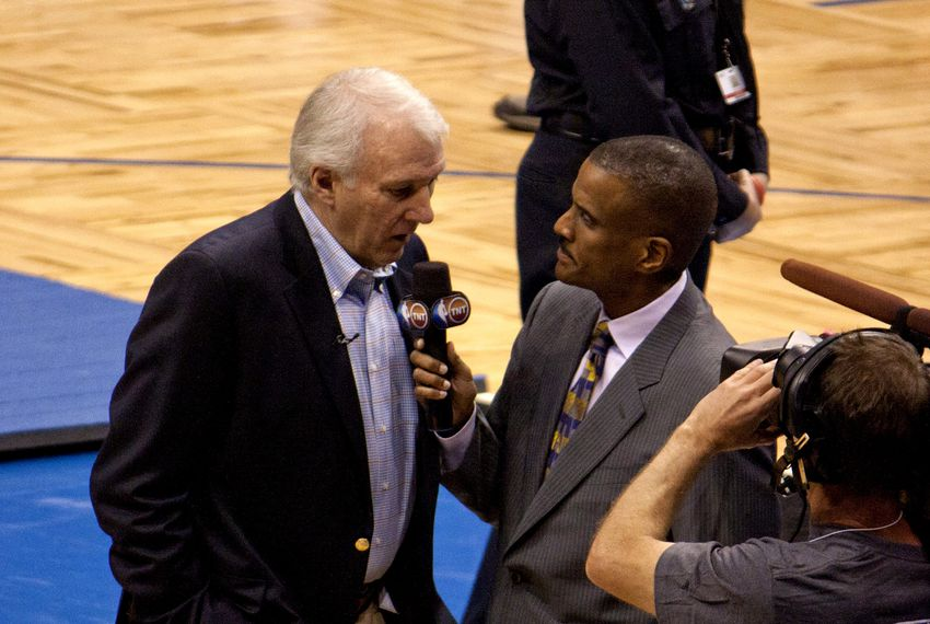 Spurs coach Gregg Popovich in Florida in 2010.
