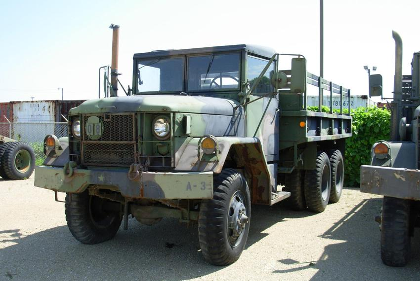 The M35 truck is an example of what is available to local, state and federal agencies through the federal government's 1033 …