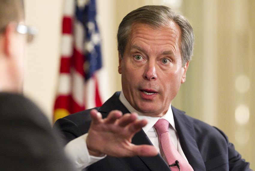 Lt. Gov. David Dewhurst at a TribLive event on Nov. 17, 2011, in Austin.