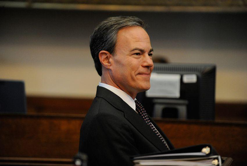 House Speaker Joe Straus during the seconding speeches for the 83rd session's speaker's race.