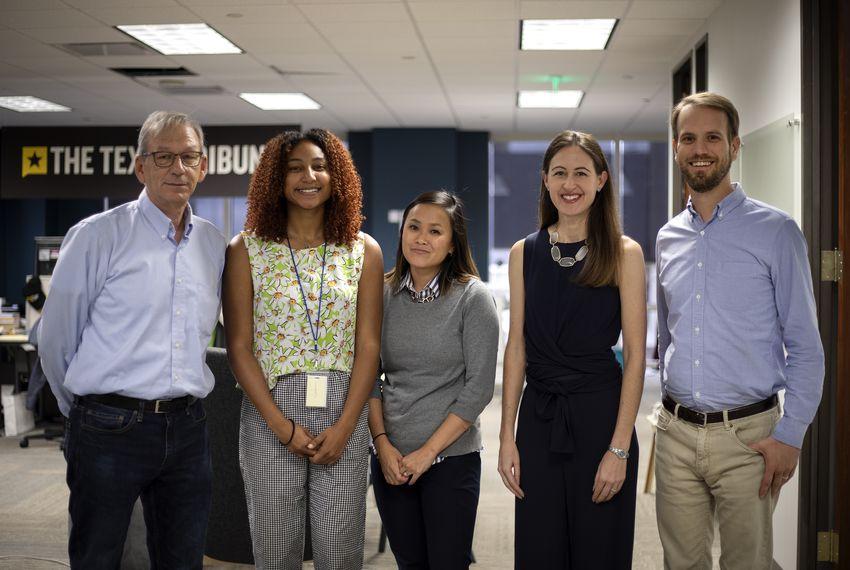 From left: David Pasztor, Stacy Fernández, Rebekah Allen, Corrie MacLaggan and Matthew Watkins.