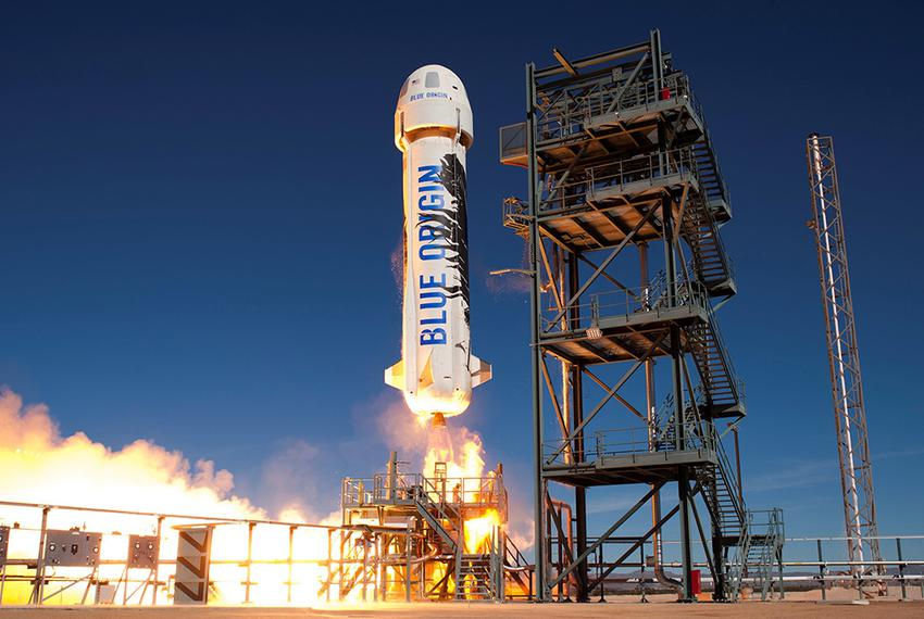 Blue Origins, a commercial spaceflight company, successfully tested its reusable New Shepard booster on June 19, 2016 in Wes…