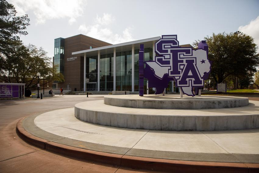 The Stephen F. Austin State University campus.