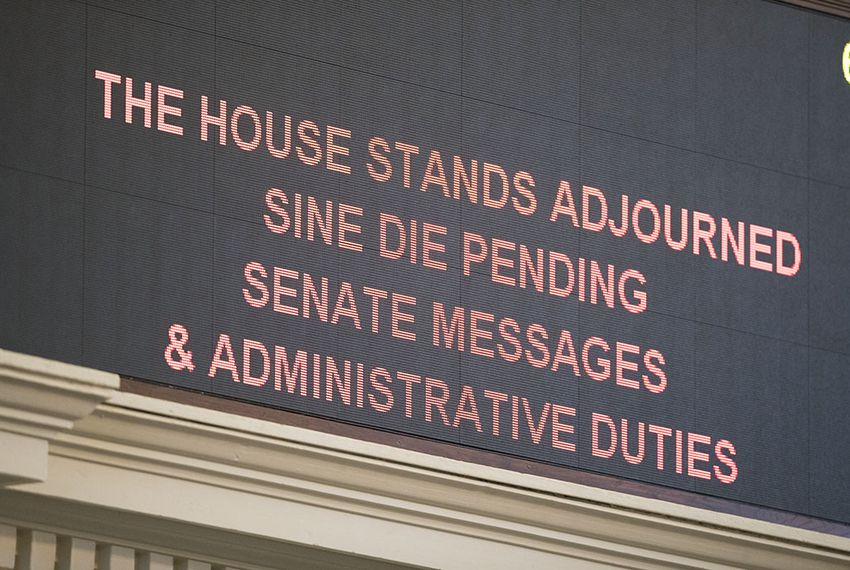 The Texas House abruptly gaveled out Sine Die – the formal designation meaning the end of a session – on Tuesday, Aug. 15, 2017.