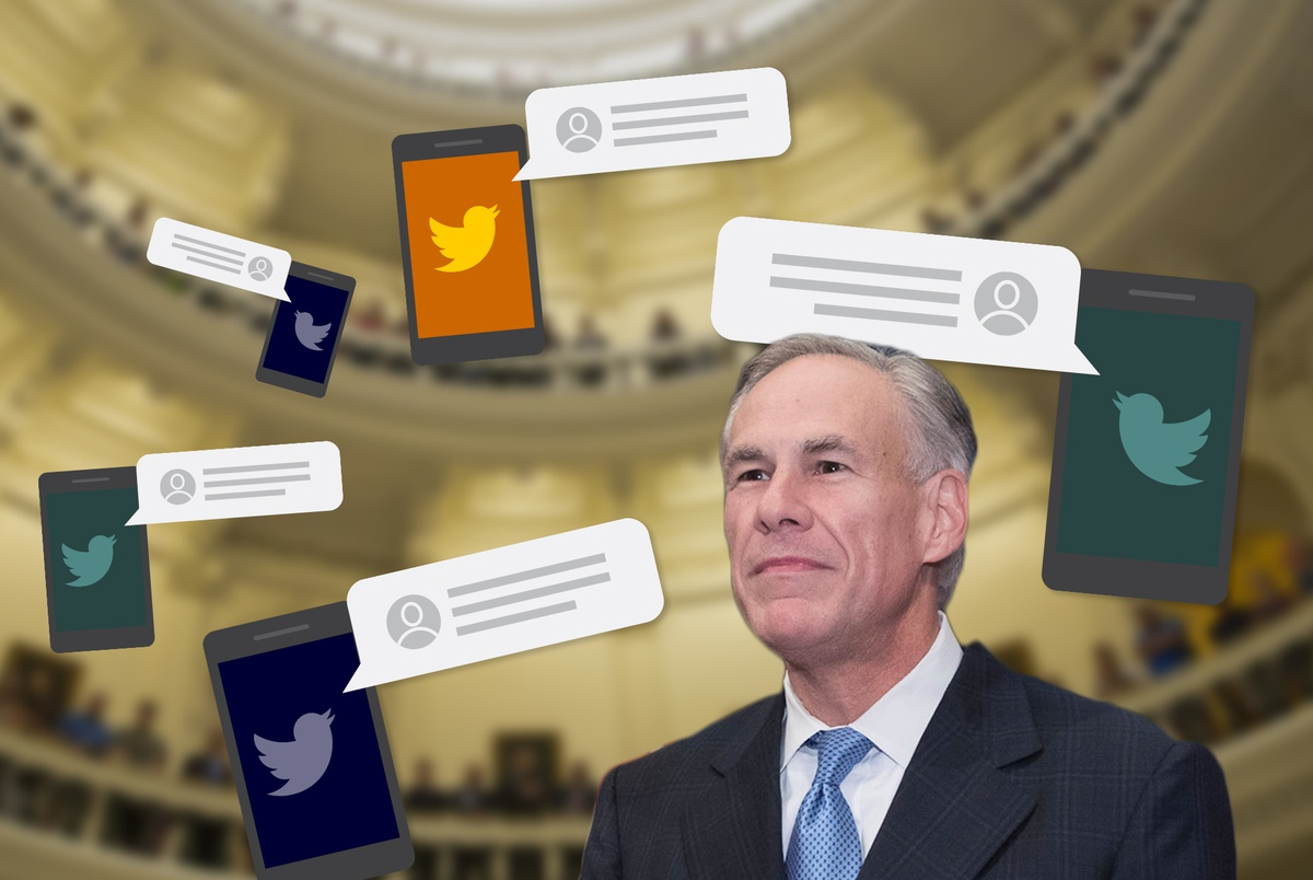 texastribune.org - Edgar Walters - Want Gov. Greg Abbott's ear? Try a Twitter message - if you can make his list