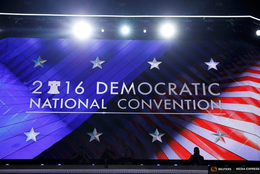 The Democratic National Convention in Philadelphia on July 25, 2016.