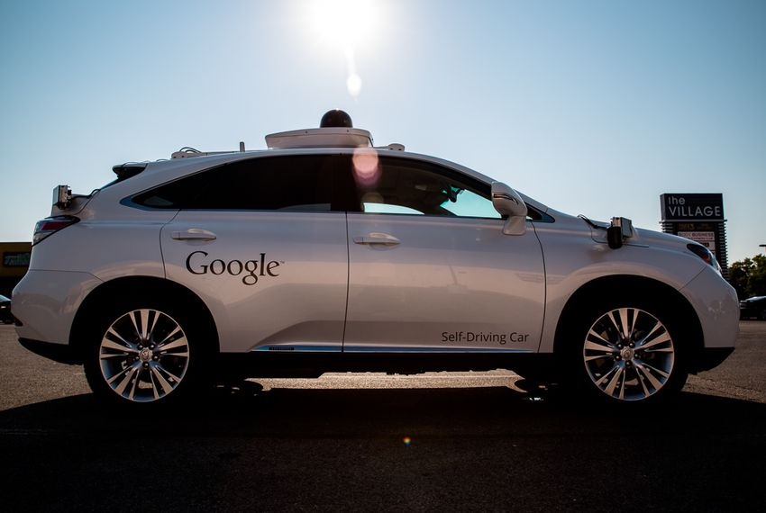 "Google spent the first half of the year blocking Texas lawmakers' efforts to create some statewide oversight of self-driving vehicle testing. Then in July, the technology giant expanded testing of its autonomous software beyond California to Texas. As of November, Google had 12 vehicles driving themselves around parts of north Austin, typically with a ""test driver"" behind the wheel and another Google employee in the passenger seat collecting data."