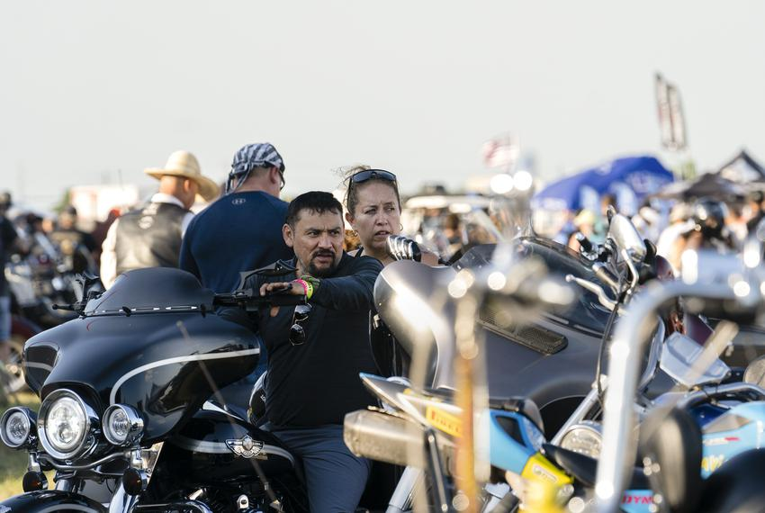 Bike enthusiasts gathered at the Circuit Of The Americas for The Republic of Texas's 25th annual motorcycle rally on June 11…