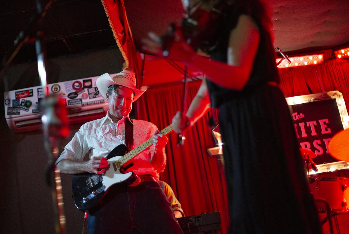The Saddle Sores at the White Horse on June 9, 2021.