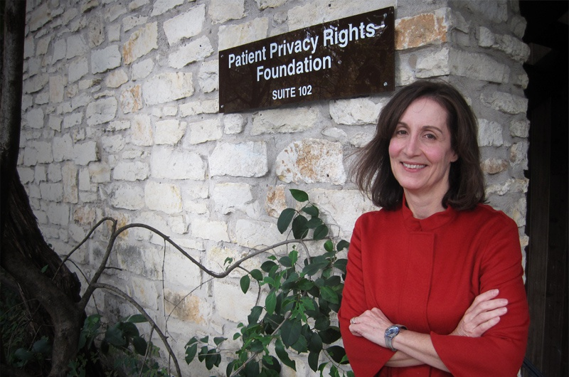 Deborah Peel, founder and chair of the non-profit Patient Privacy Rights