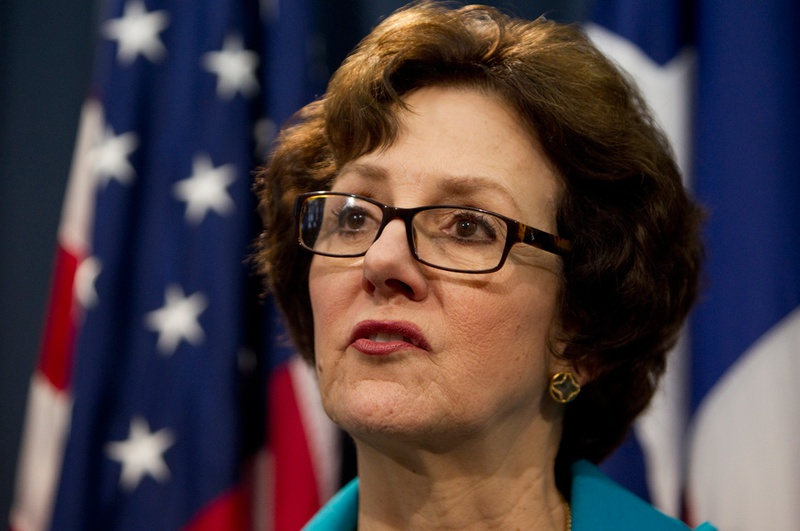 Texas Comptroller Susan Combs on Feb. 7, 2013.