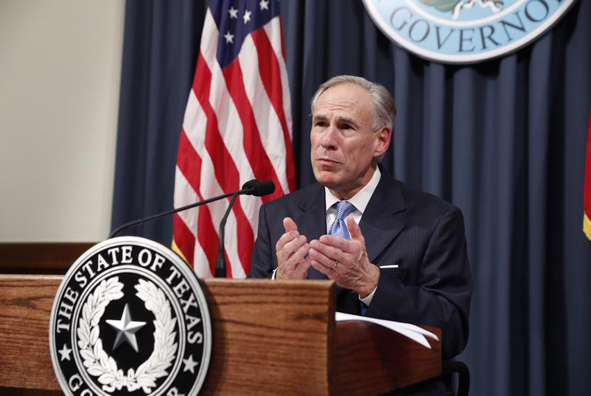 Gov. Greg Abbott lays out items for a special session at a press conference on June 6, 2017. The session will start on July …