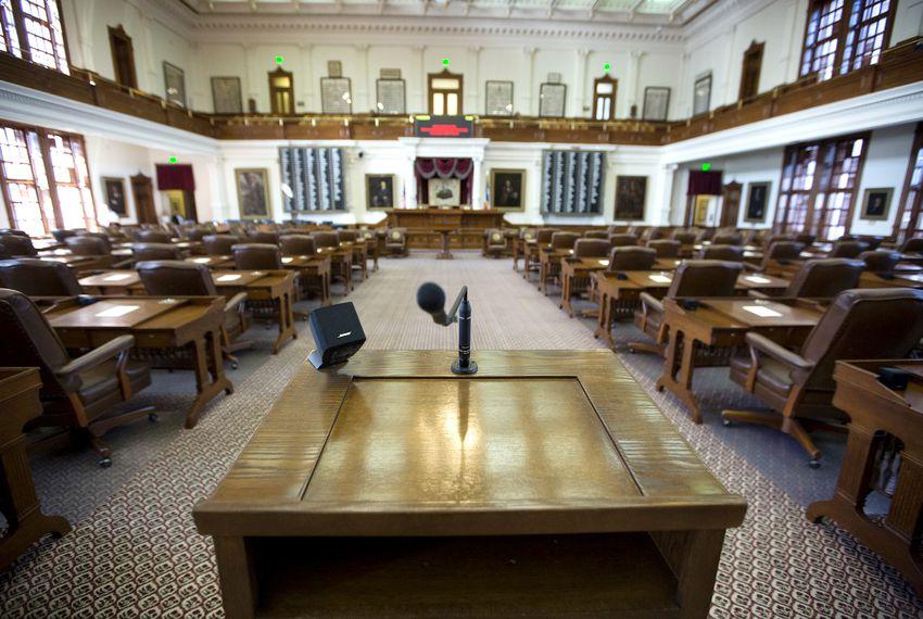 The Texas House of Representatives.