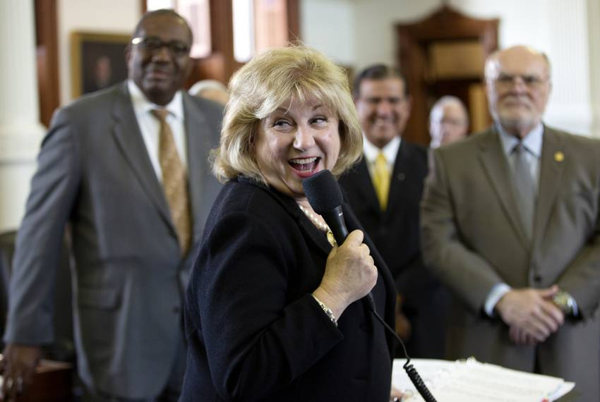 State Sen. Jane Nelson, R-Flower Mound, oversaw the successful passing of HB 1, a budget deal, in the Senate on May 27, 2019.
